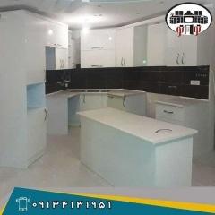ساخت کابینت آشپزخانه  های گلاس