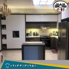ساخت و اجرای کابینت آشپزخانه  هایگلاس