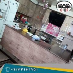 طراحی کابینت آشپزخانه  MDF