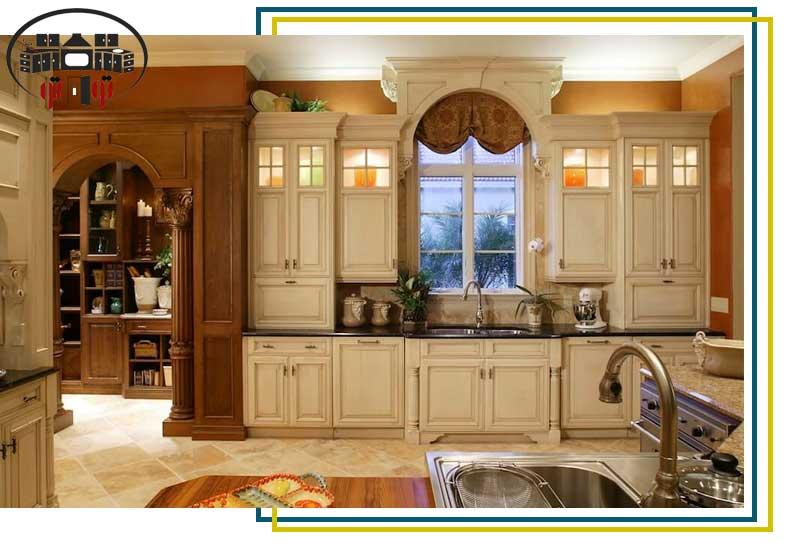 هزینه نصب کابینت آشپزخانه