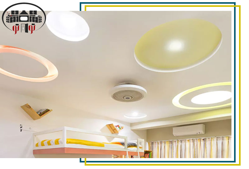 طراحی سقف کاذب اتاق کودک