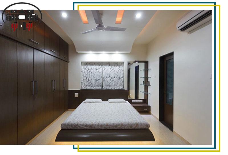 طراحی سقف کاذب اتاق خواب
