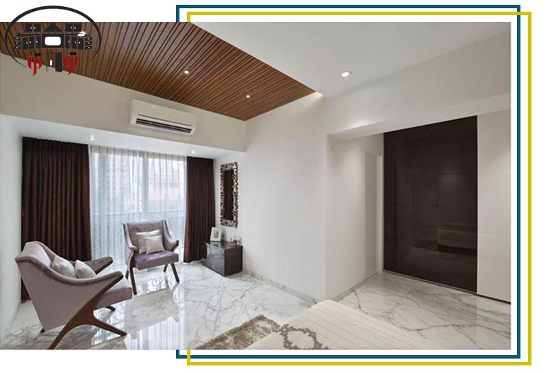 جداسازی قسمت های مختلف سقف کاذب