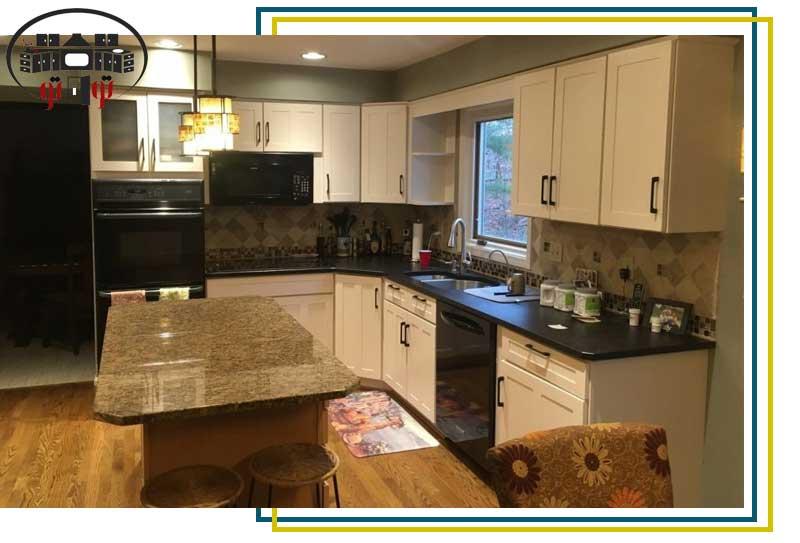 جدیدترین رنگ کابینت آشپزخانه