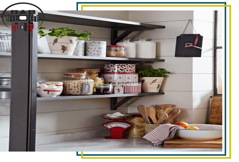 استفاده بهینه از فضا در طراحی دکوراسیون آشپزخانه کوچک