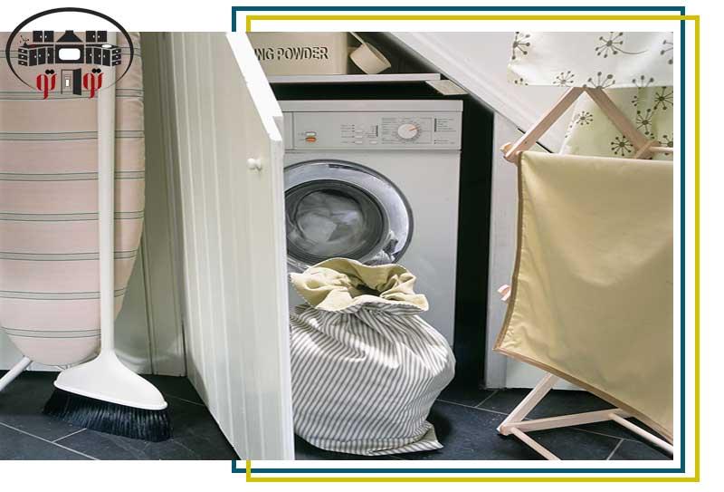 کابینت مناسب ماشین لباسشویی