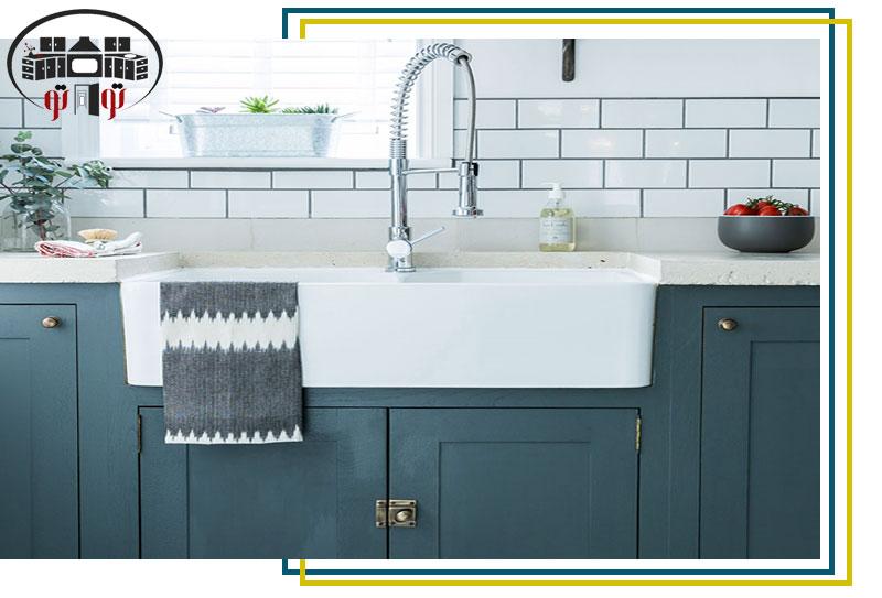 سینک بزرگ به جای ماشین ظرفشویی در آشپزخانه های کوچک