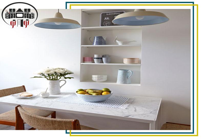 استفاده بهینه از قفسه های آشپزخانه