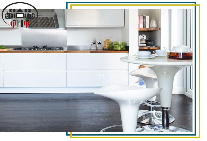 تاثیر رنگ در طراحی دکوراسیون آشپزخانه کوچک