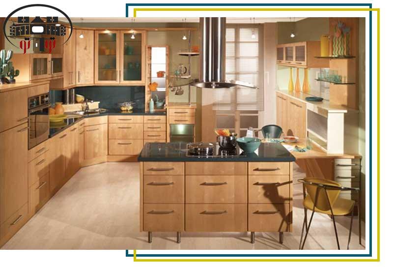 طراحی داخلی آشپزخانه زیبا