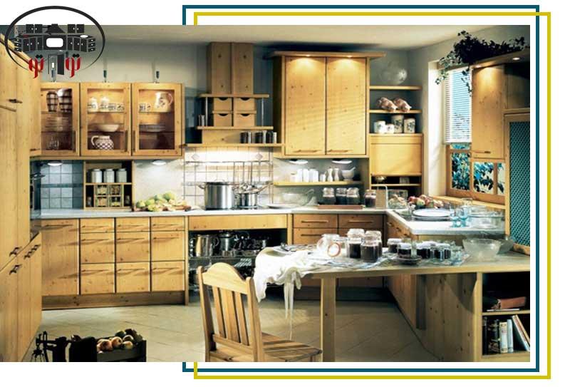 استفاده مناسب از فضا در آشپزخانه