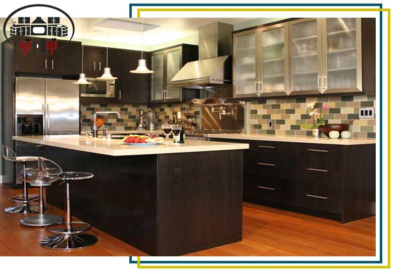 فضای نامناسب کانتر در طراحی داخلی آشپزخانه