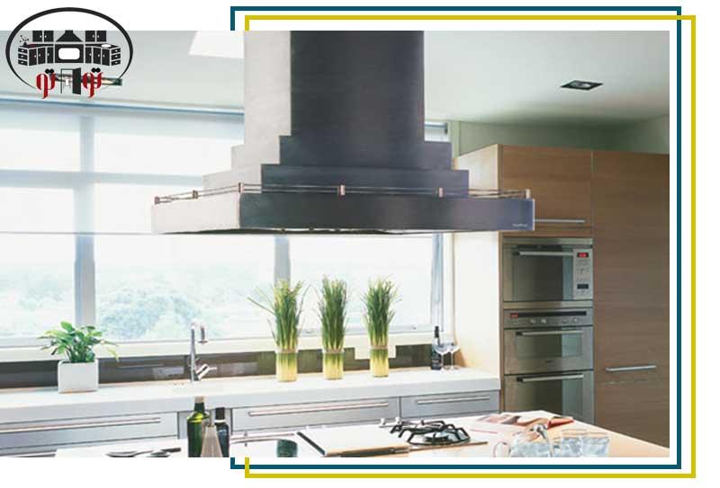 سیستم تهویه مناسب در طراحی داخلی آشپزخانه
