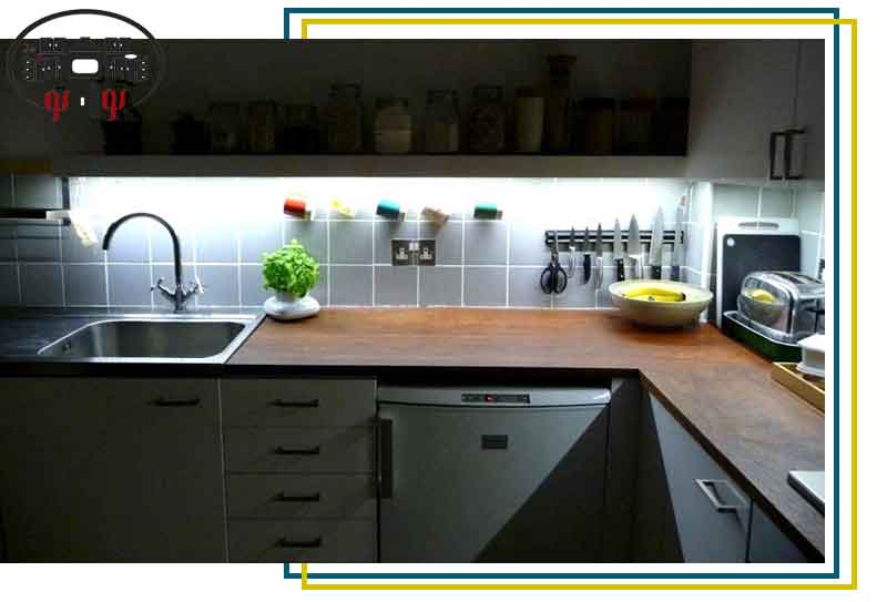 نورپردازی کاربردی زیر کابینت های آشپزخانه