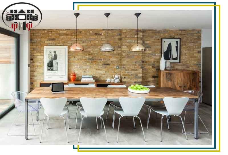 صندلی های ناهماهنگ در طراحی غذاخوری