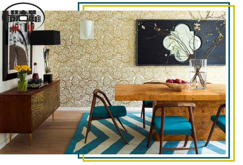 طراحی مکانی برای غذاخوری در خانه
