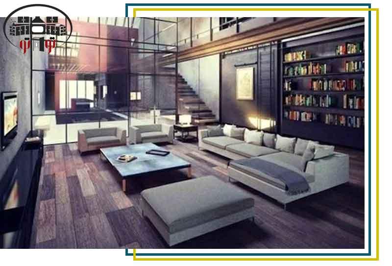 استفاده از فضا در طراحی داخلی